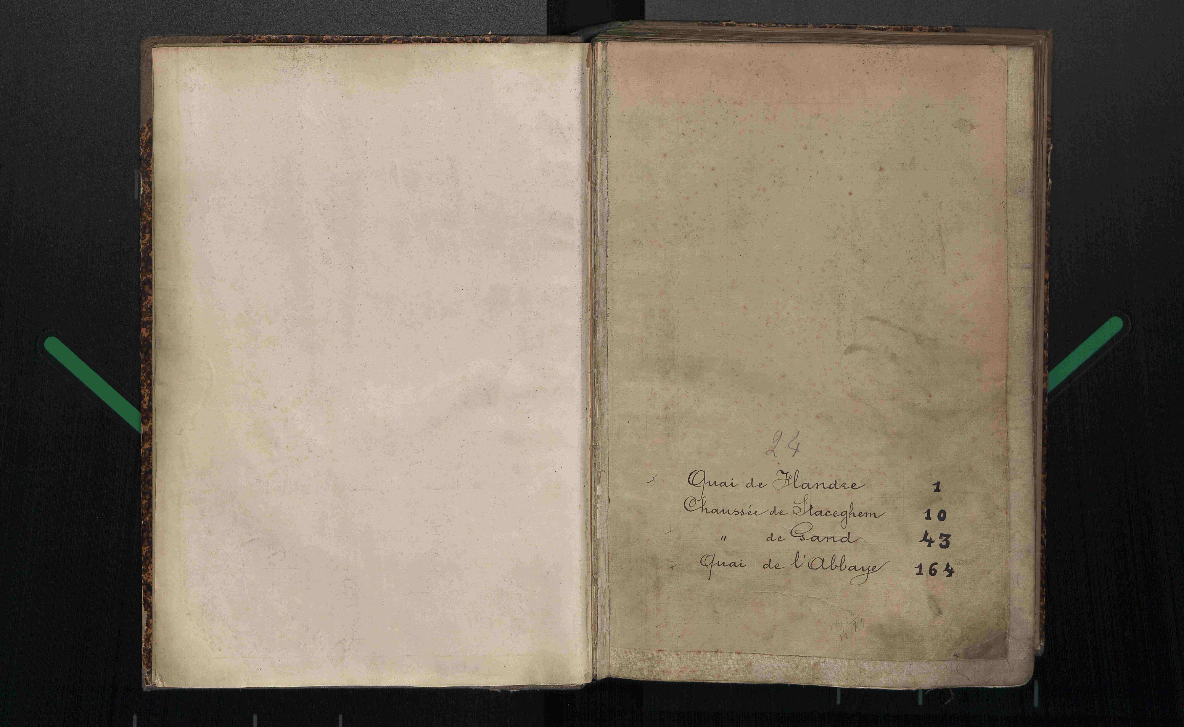 Bevolkingsregister Kortrijk 1890 boek 24