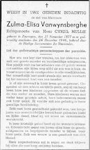 Vanwynsberghe Zulma-Elisa