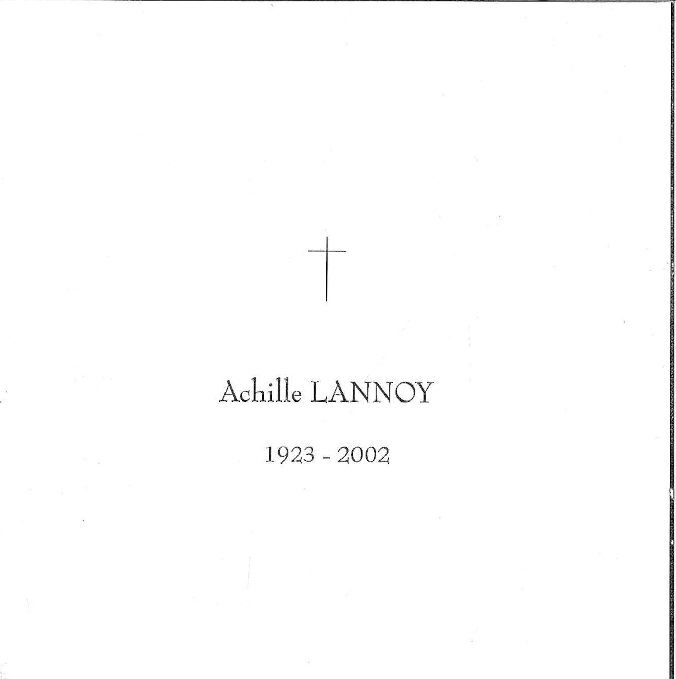 Lannoy Achille