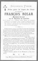 François Rosar