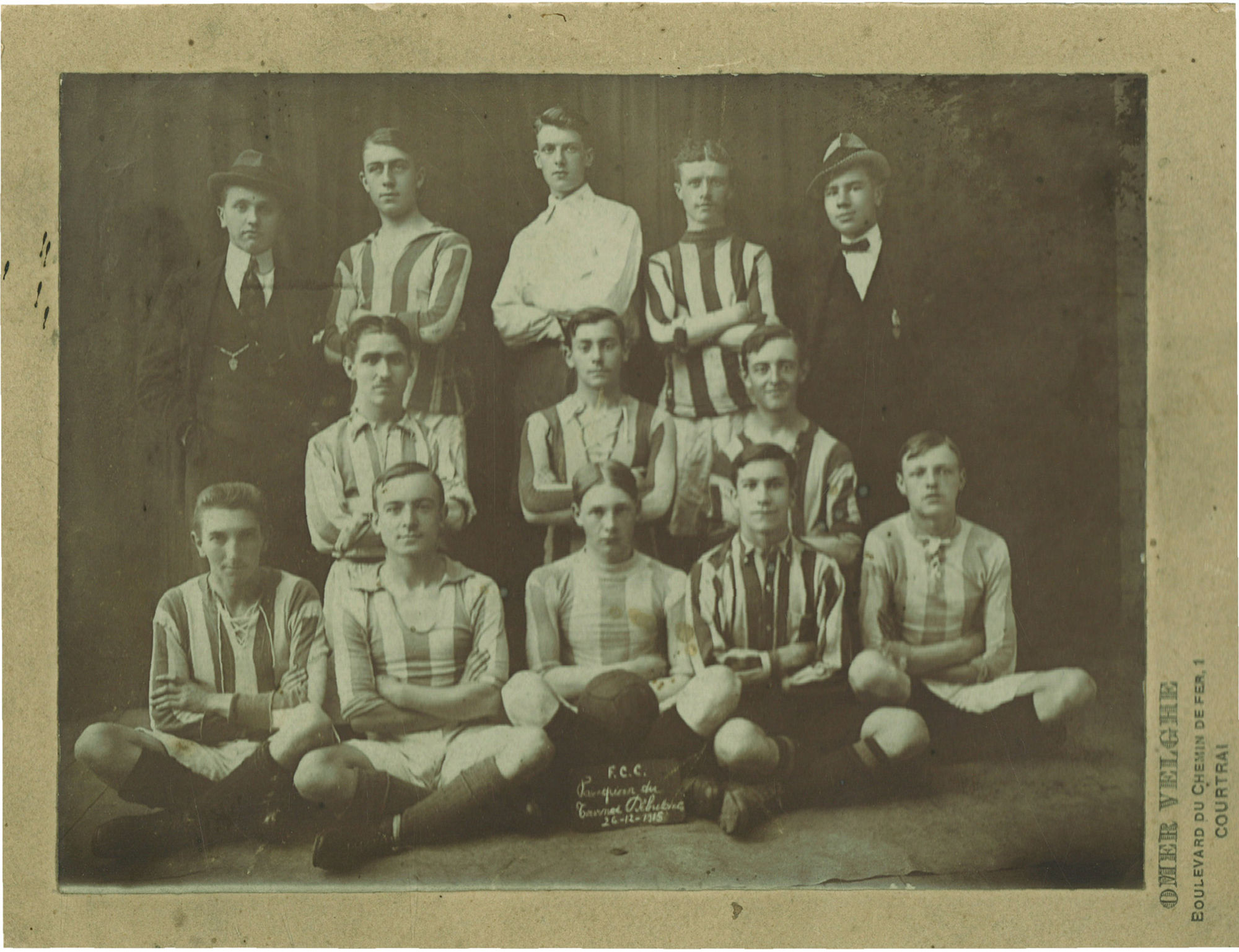 Football Club Coutraisien 1915.