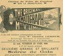 Paasfoor 1906: Cinematograaf van Lemeur in 1906