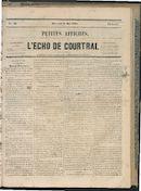 L'echo De Courtrai 1864-05-18