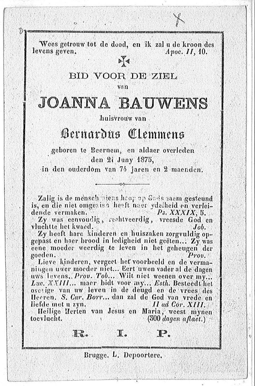 Joanna Bauwens