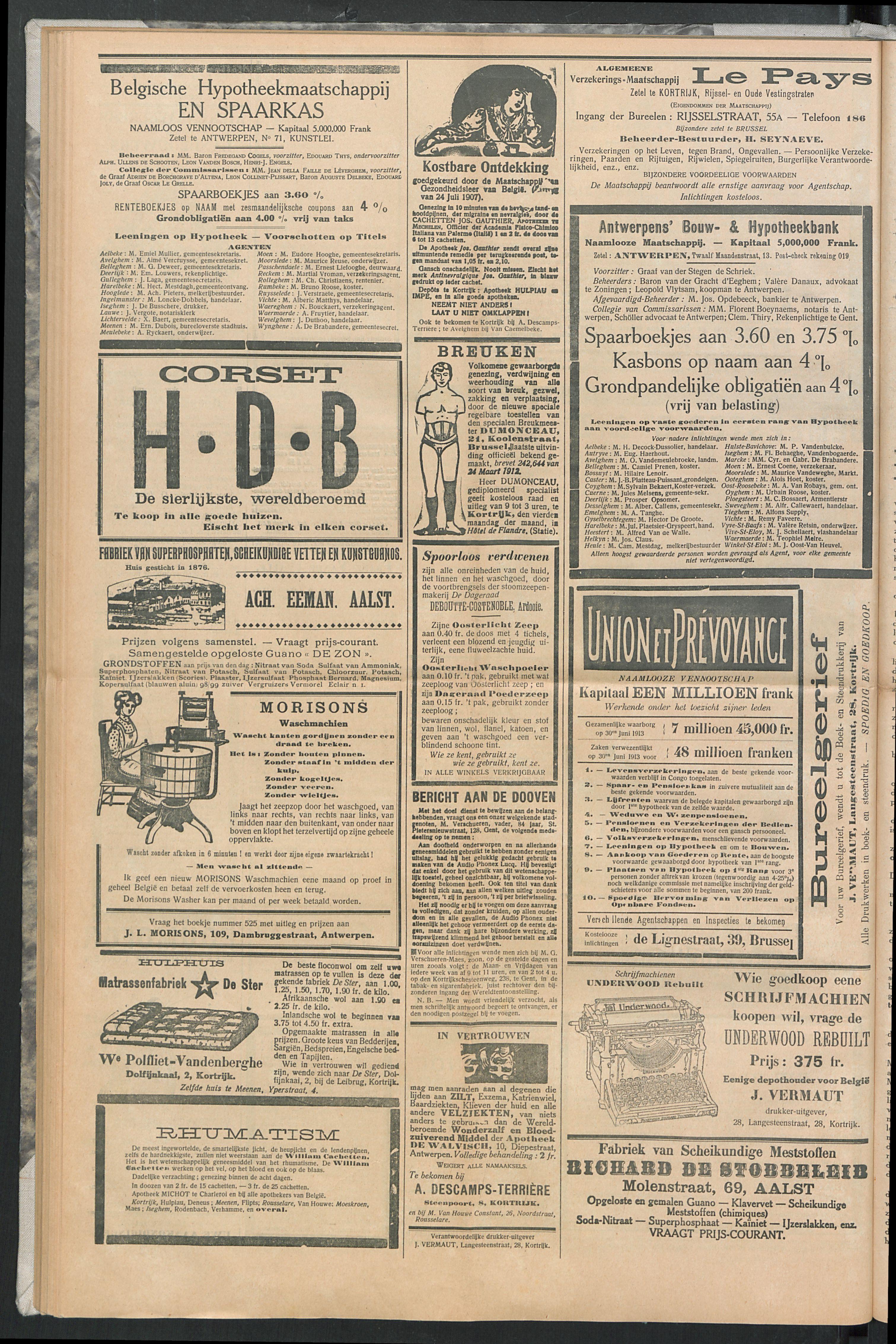 Het Kortrijksche Volk 1914-05-24 p8