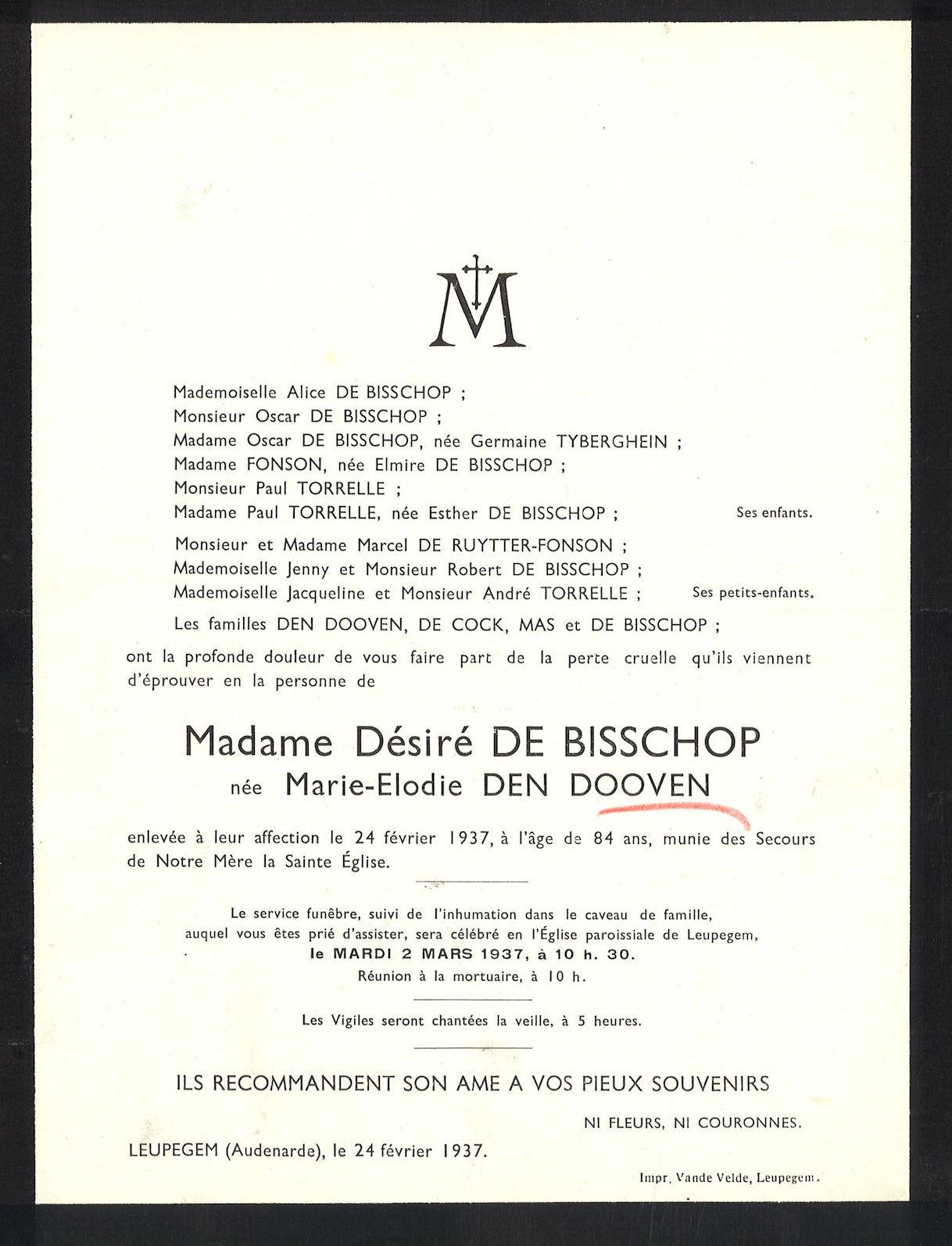 Den Dooven Marie-Elodie
