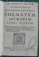 Poematum Sacrorum 1627
