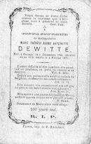 Marie Thérèse Barbe Antoinette Dewitte