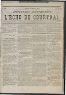 L'echo De Courtrai 1875-05-30