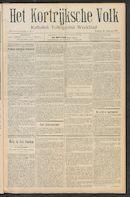 Het Kortrijksche Volk 1911-01-22