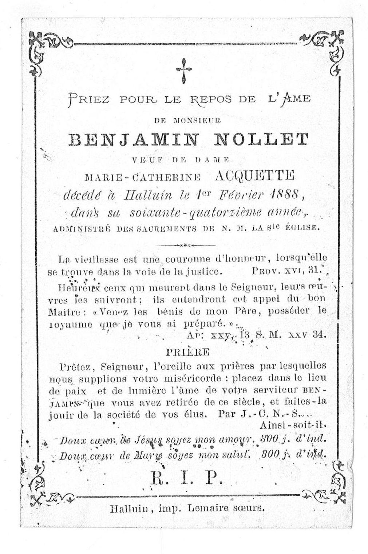 Benjamin Nollet
