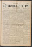 L'echo De Courtrai 1914-06-28
