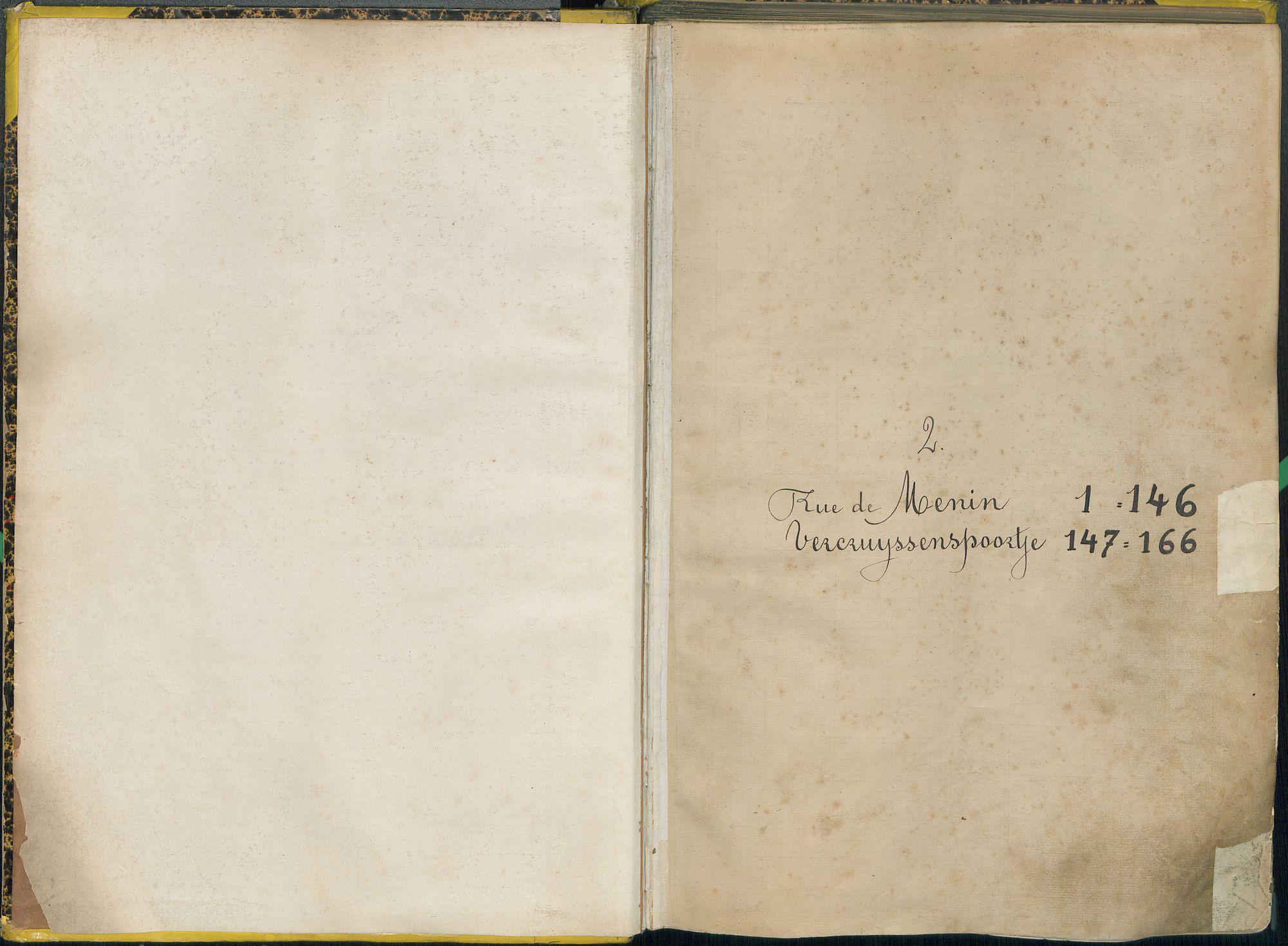 Bevolkingsregister Kortrijk 1890 boek 2