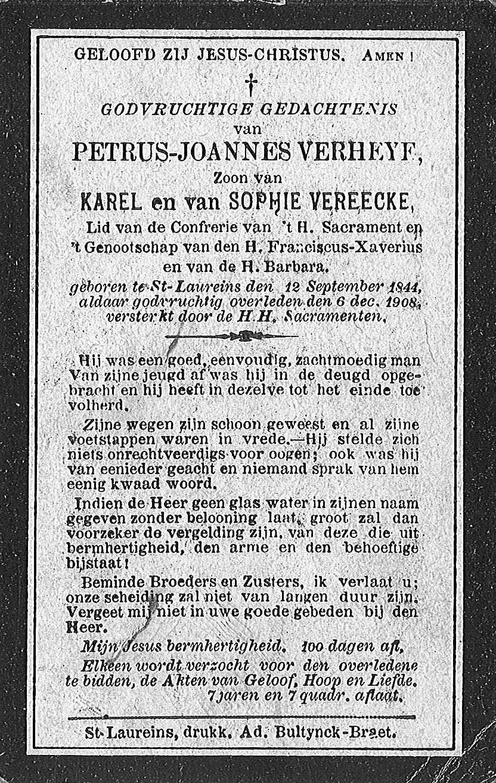 Petrus-Joannes Verheye
