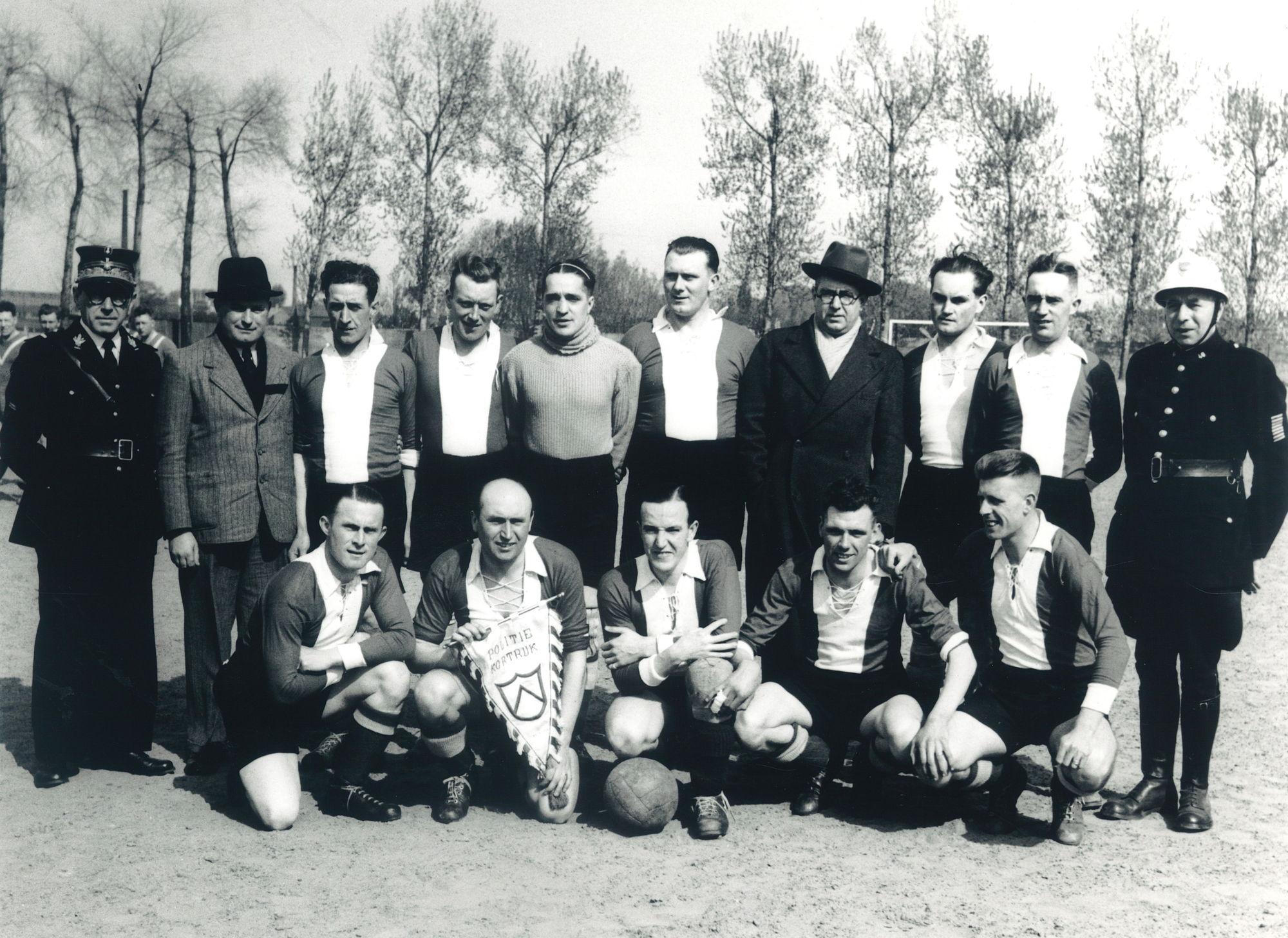 Voetbalploeg Politie Kortrijk