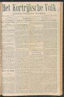 Het Kortrijksche Volk 1910-08-28