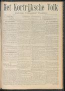 Het Kortrijksche Volk 1908-09-27
