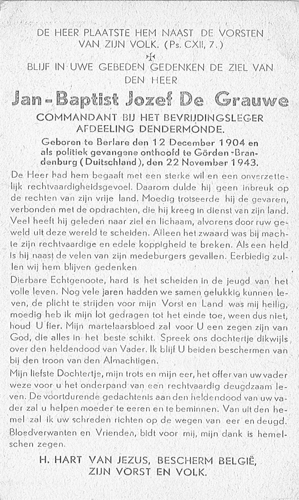 Jan-Baptist-Jozef De Grauwe