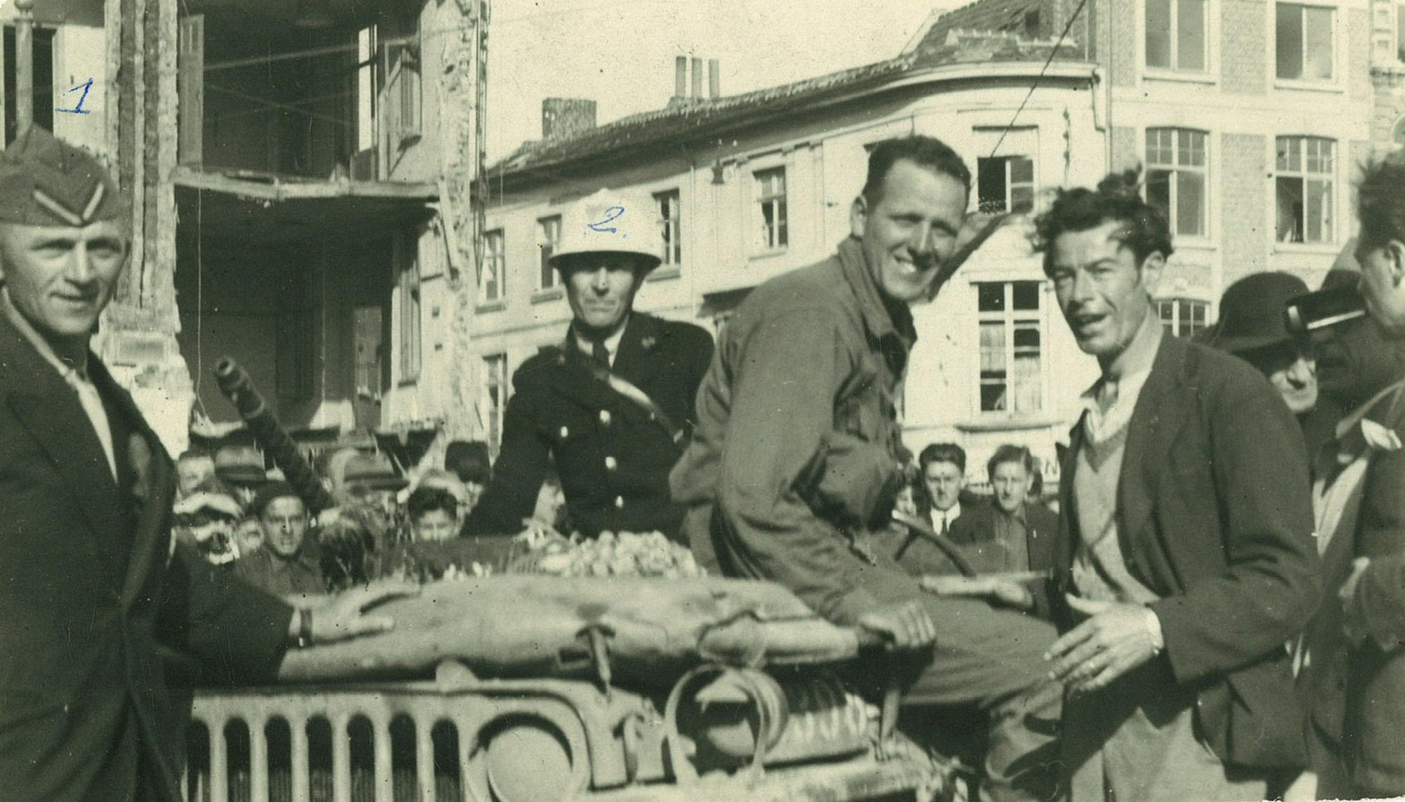 Soldaat James Bentis op 4 september 1944