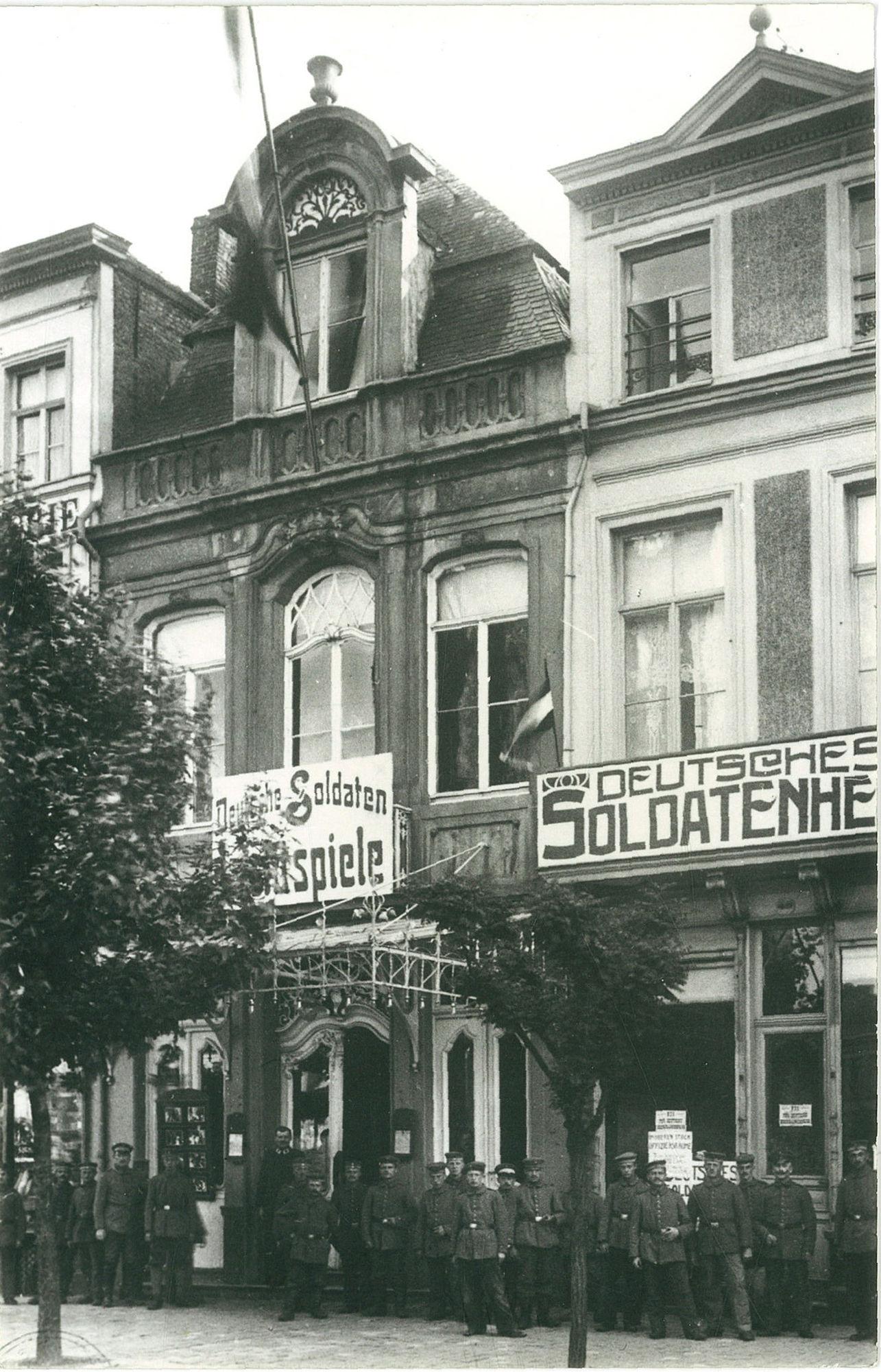 Grote Markt vóór de bombardementen van 1944