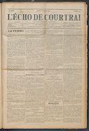 L'echo De Courtrai 1914-02-12