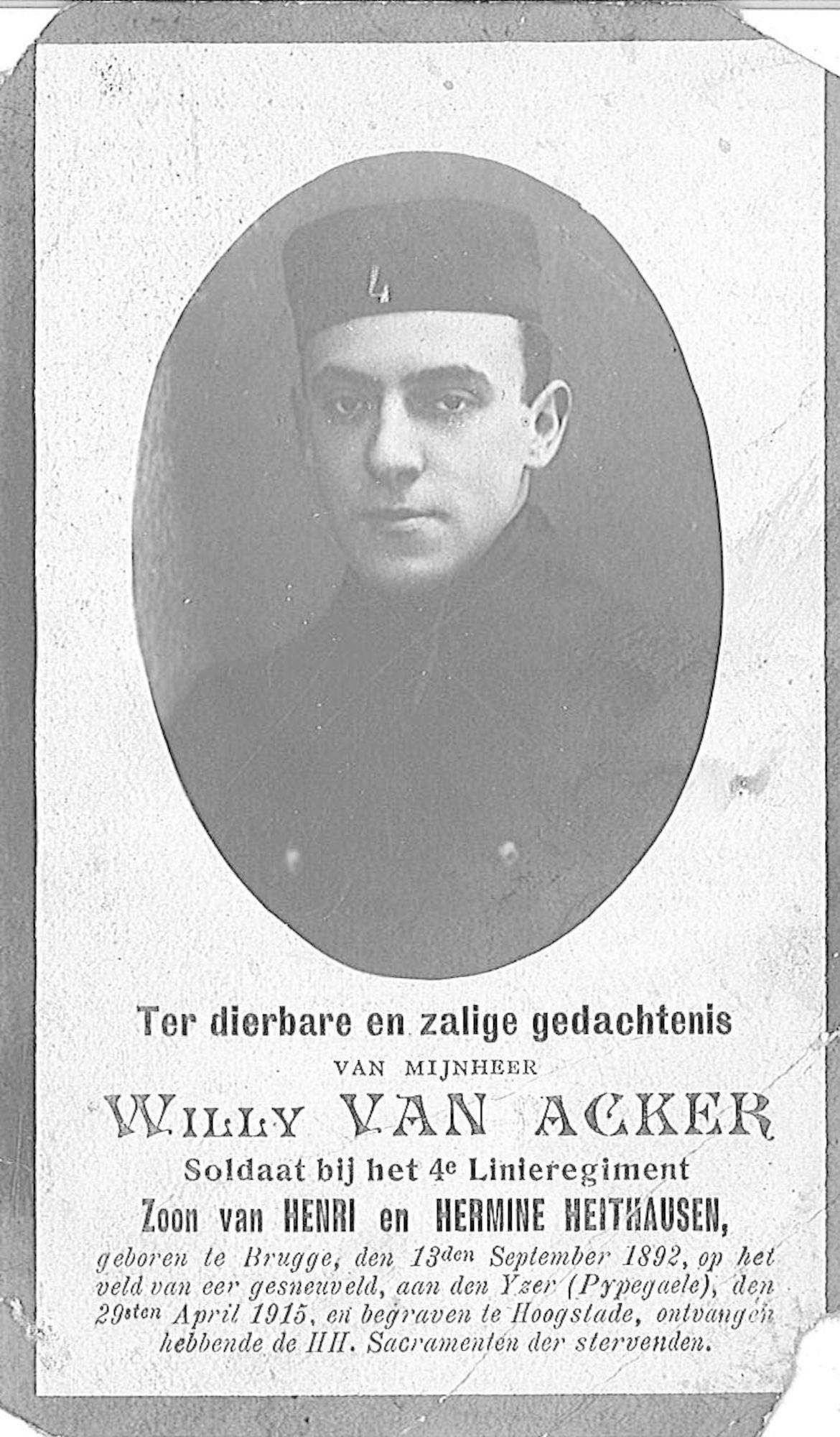 Willy Van Acker