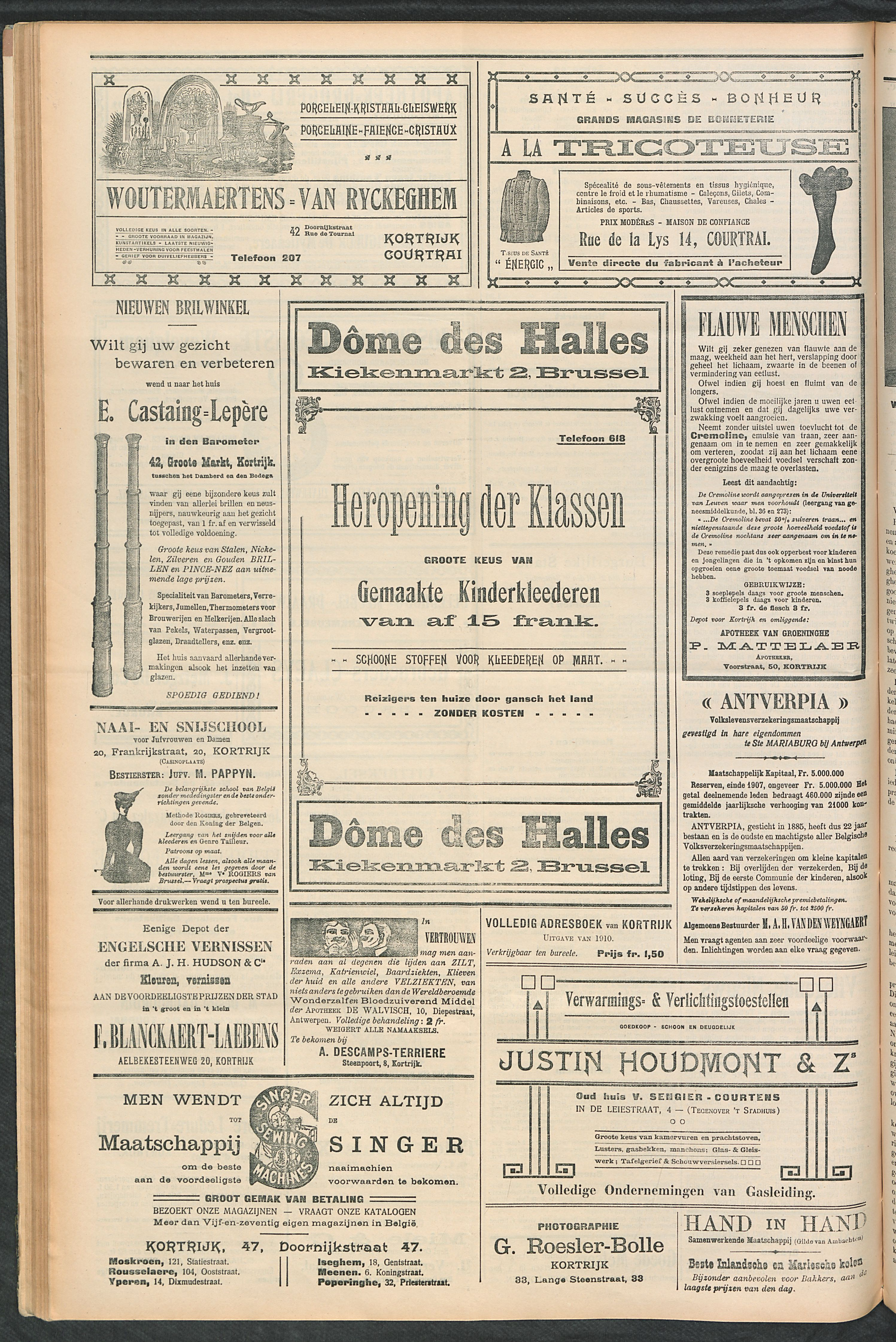 Het Kortrijksche Volk 1910-09-11 p4