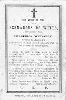 Bernardus De Witte