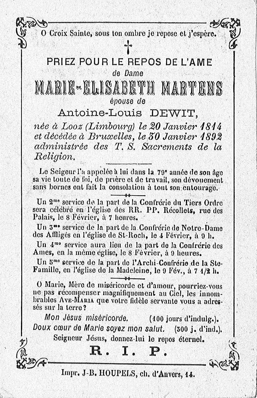 Marie-Elisabeth Martens