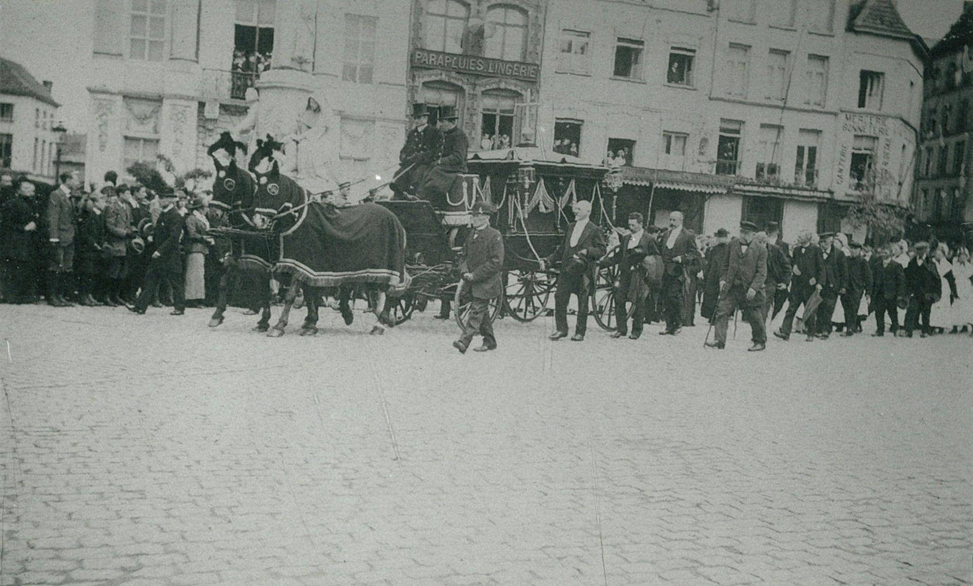 Begrafenis Burgemeester Reynaert