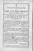 Jozef Van Den Broeck