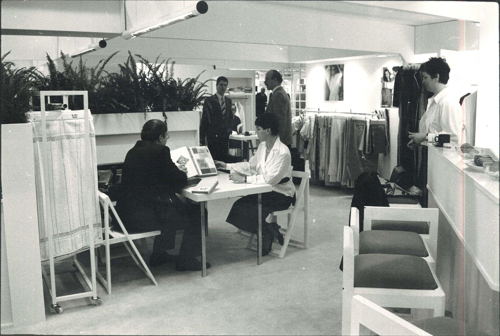 Heimtex '86 in Frankfurt 1986