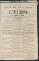 L'echo De Courtrai 1850-01-27
