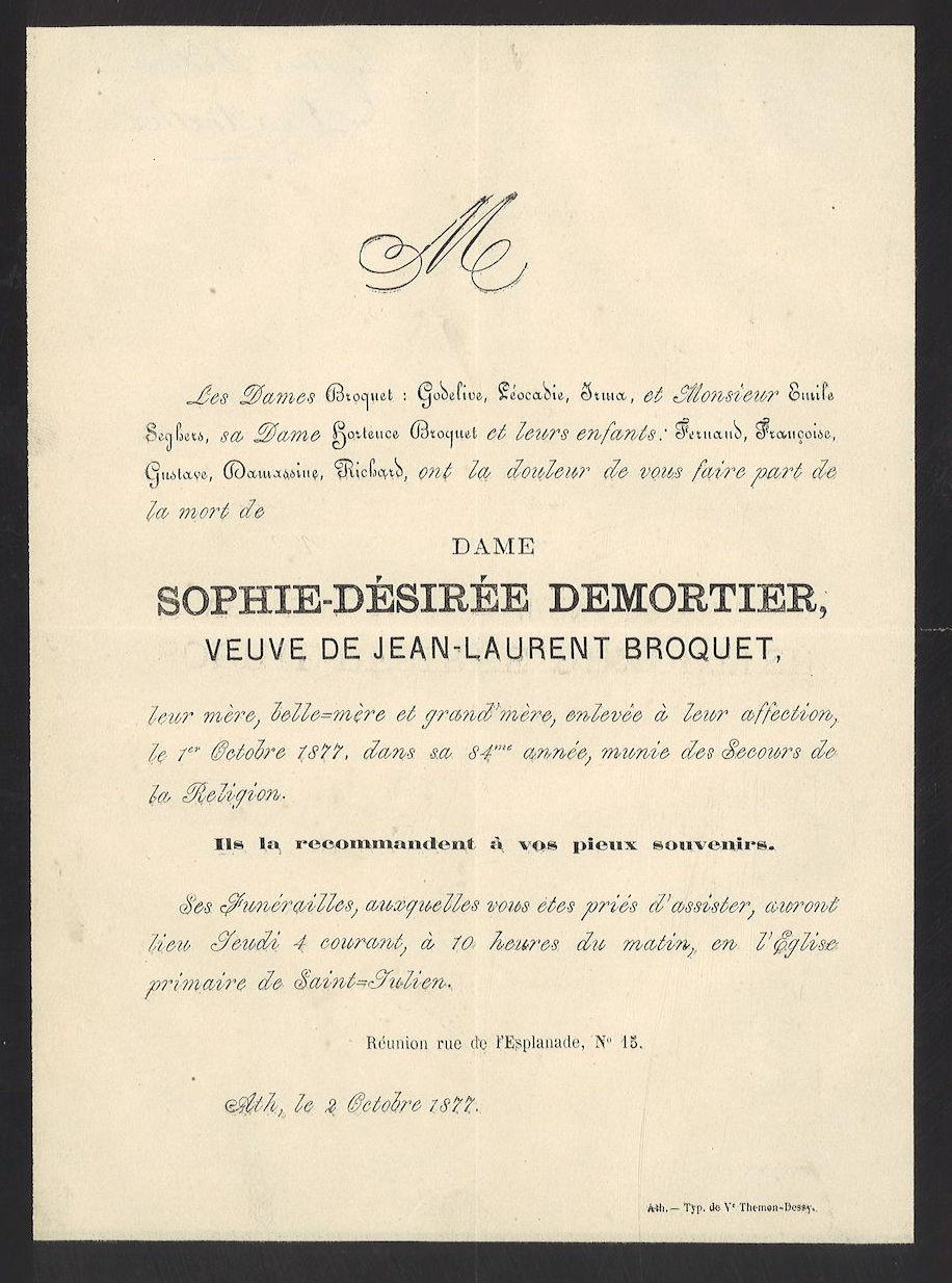 Sophie-Désirée Demortier