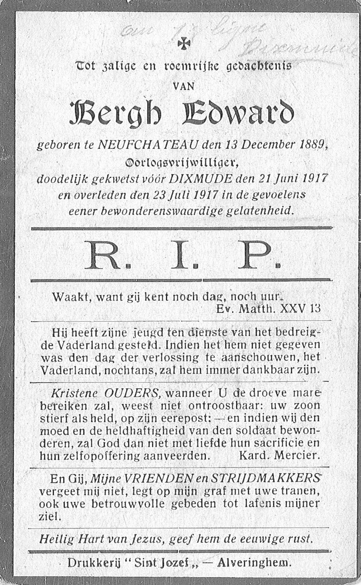 Edward Bergh