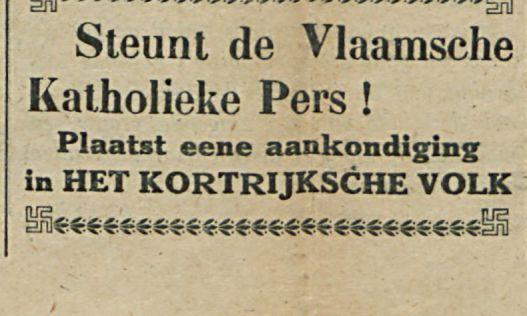 Steunt de Vlaamsche