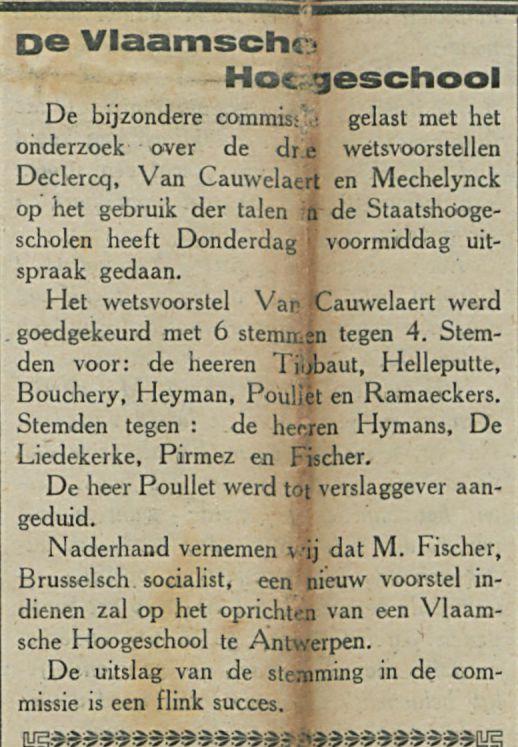 De Vlaamsche