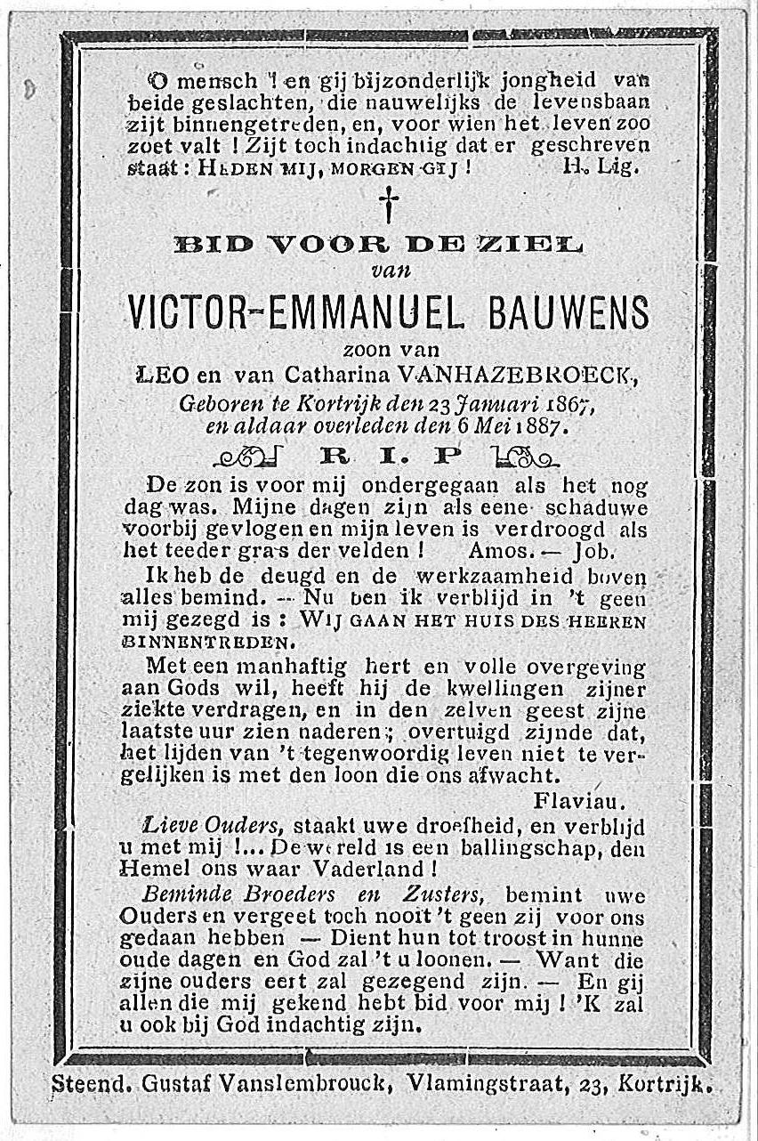 Victor-Emmanuel Bauwens