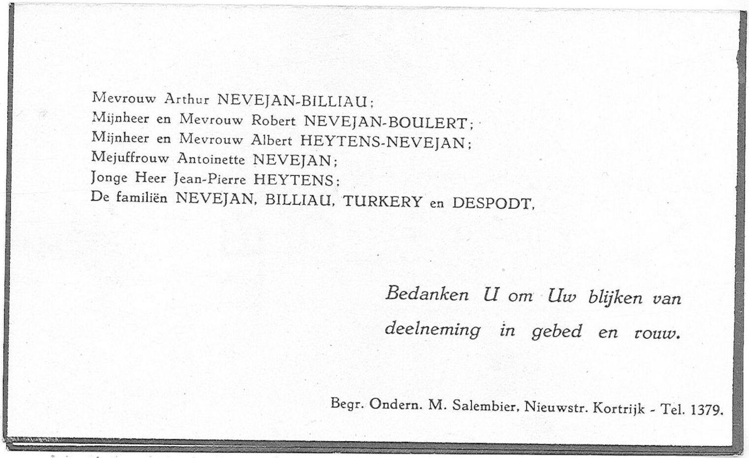 Arthur-Theophile-Cornelius Nevejan