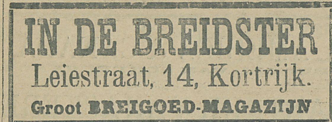 IN DE BREIDSTER