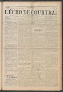 L'echo De Courtrai 1914-07-16