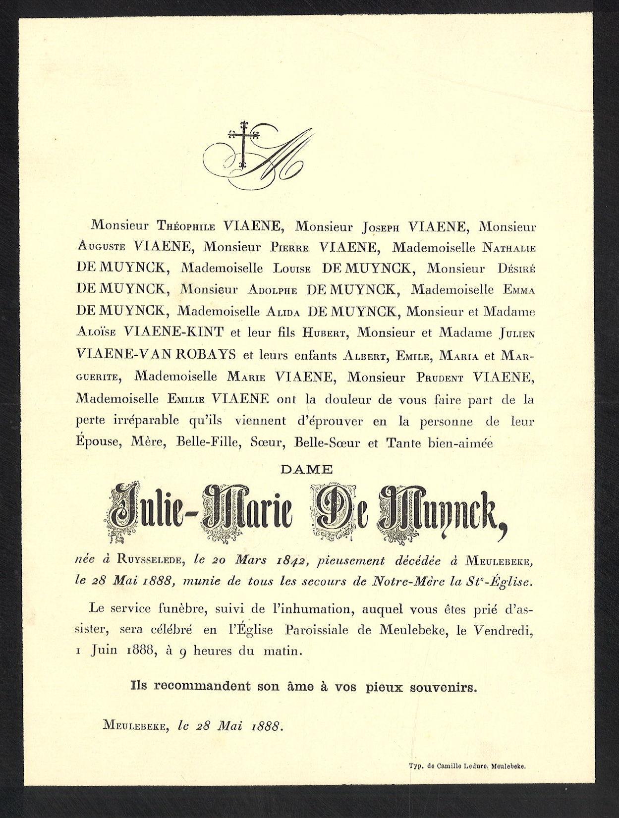 Julie-Marie De Muynck