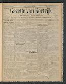 Gazette Van Kortrijk 1914-04-09