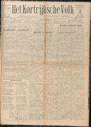 Het Kortrijksche Volk 1929-11-03 p1