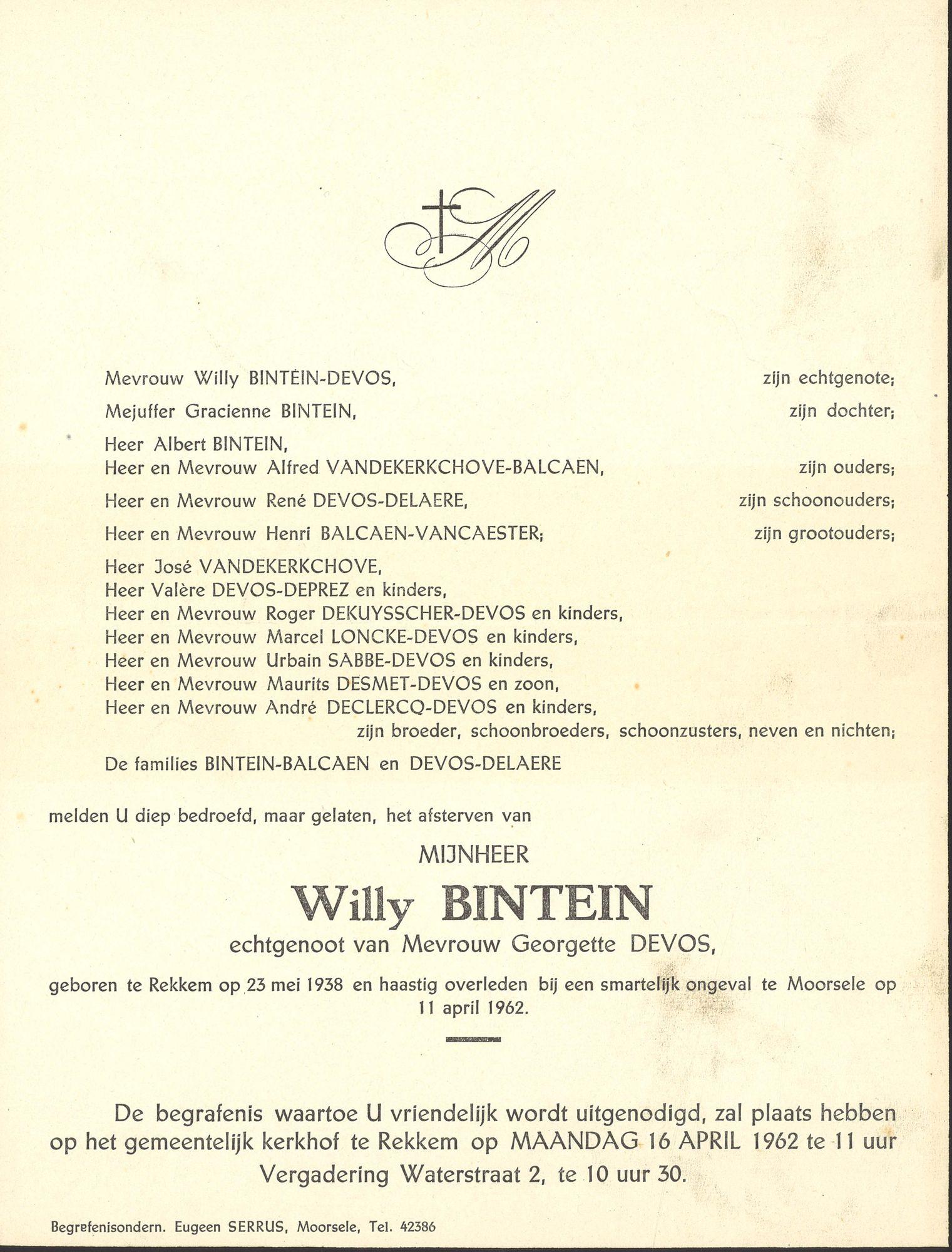 Willy Bintein
