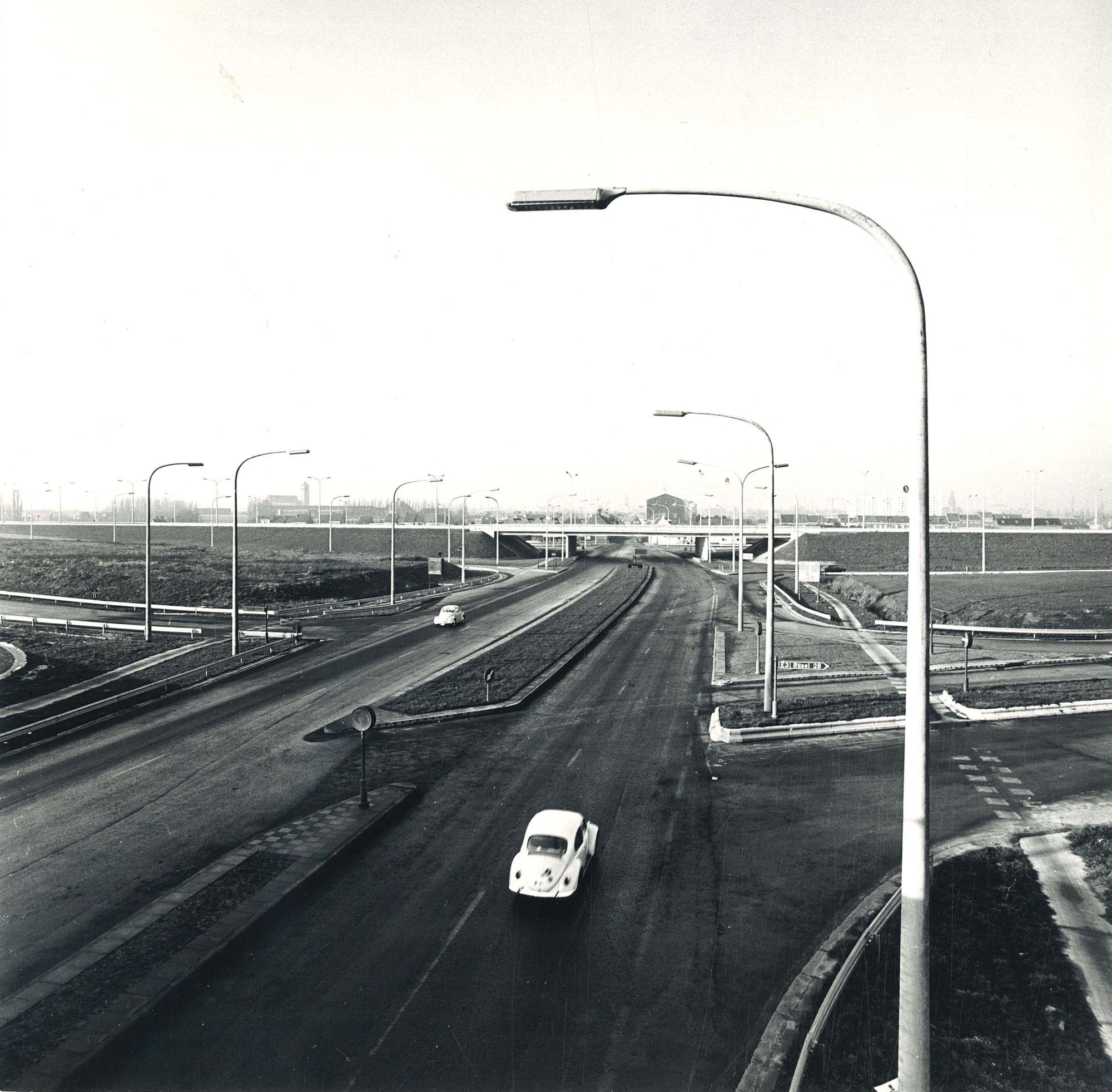Ringlaan rond Kortrijk 1972
