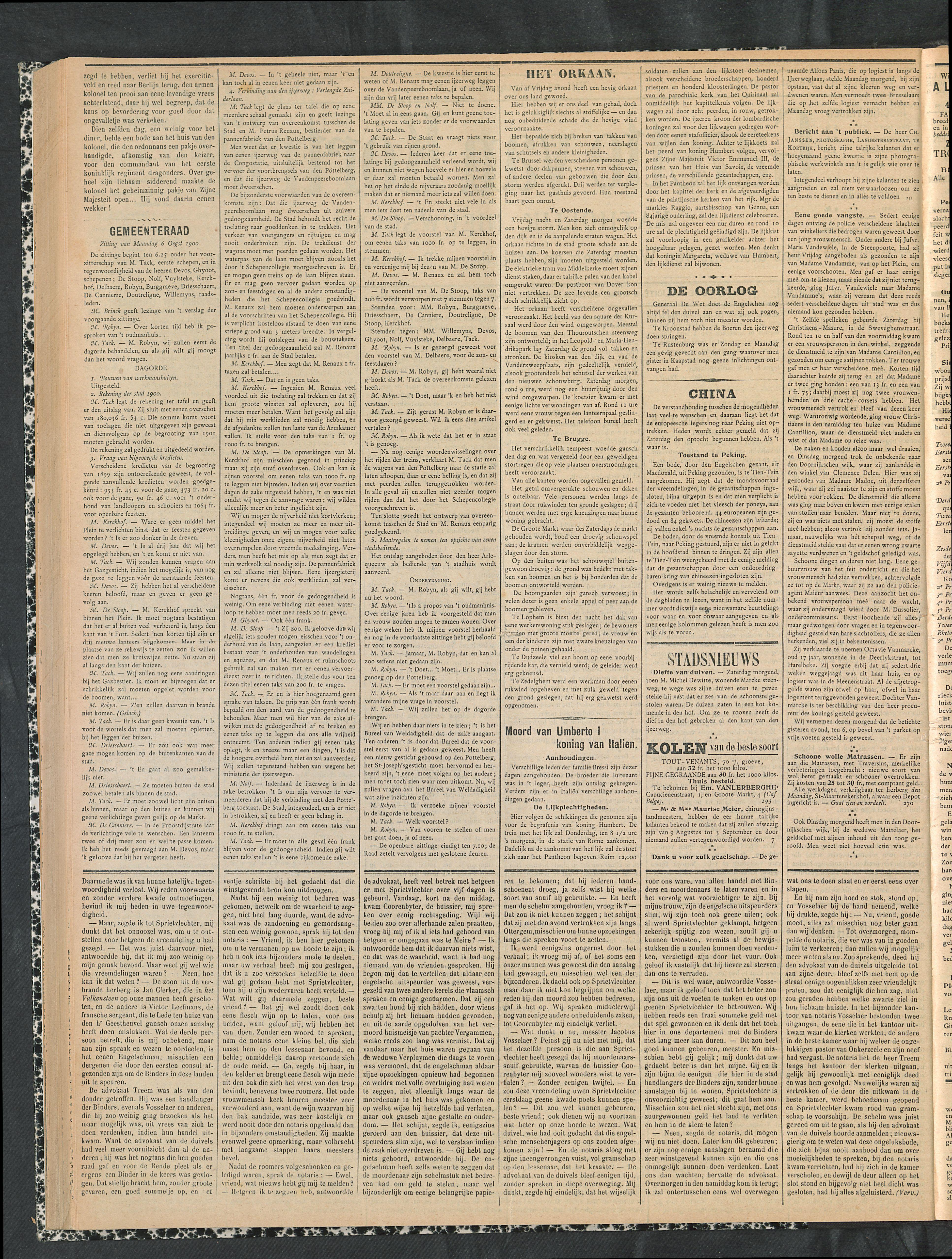 Gazette Van Kortrijk 1900-08-05 p2