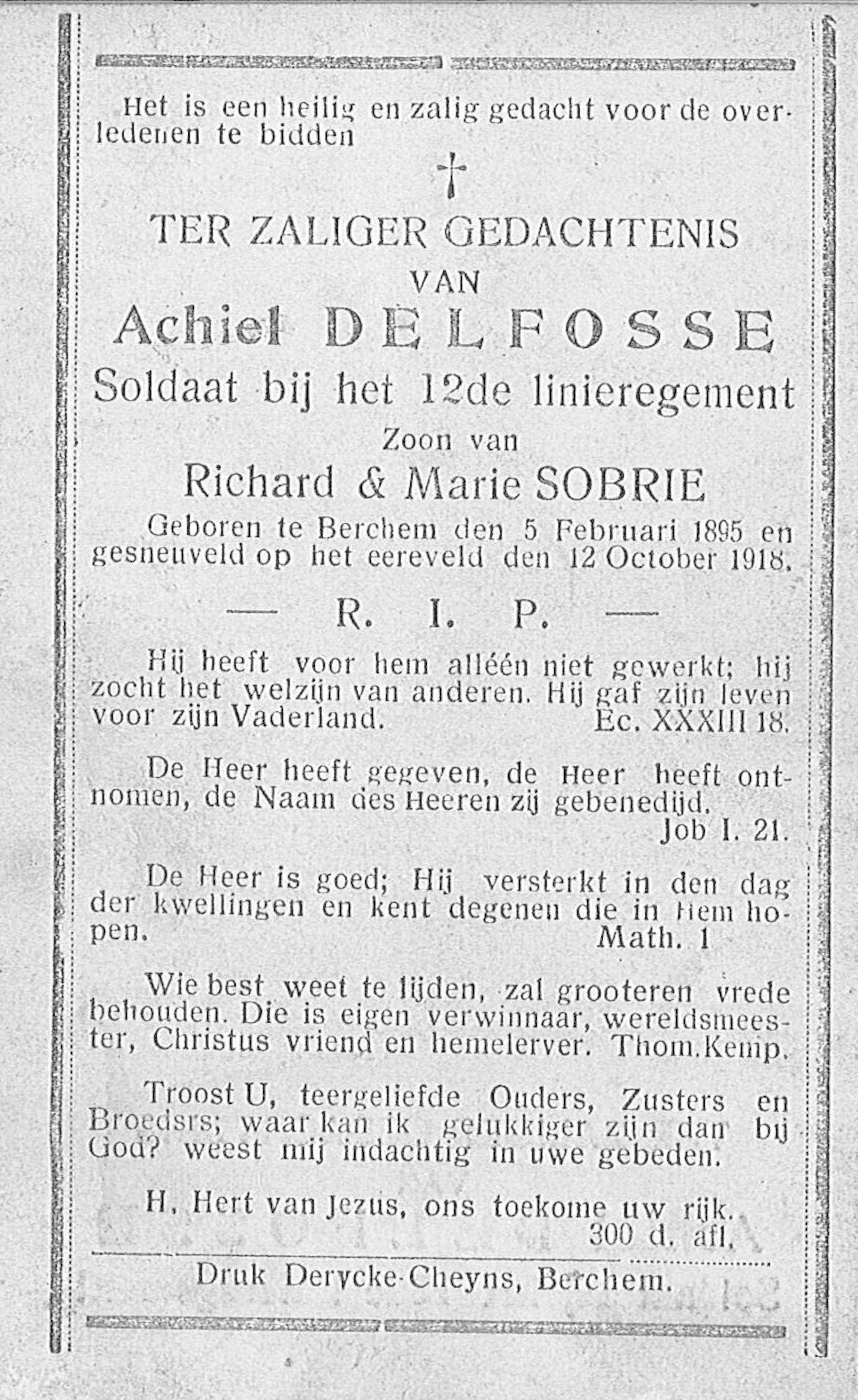 Achiel Delfosse