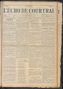 L'echo De Courtrai 1911-05-04