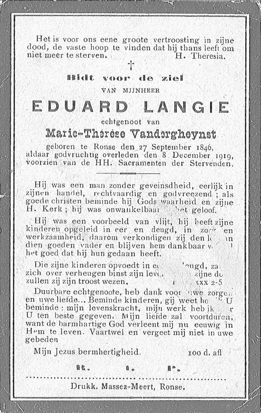 Eduard Langie